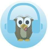 MoodSmith owl logo with headphones